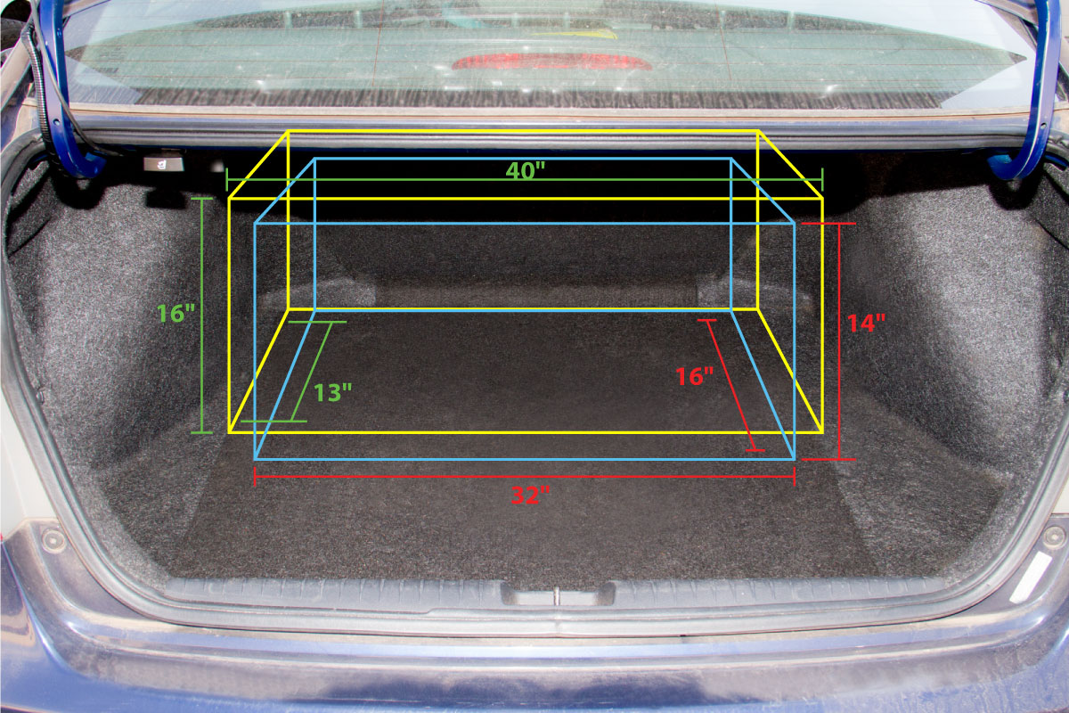 2007 Honda Civic Cargo Area