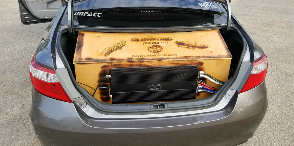 Impact Installing Amp and Trunk Box