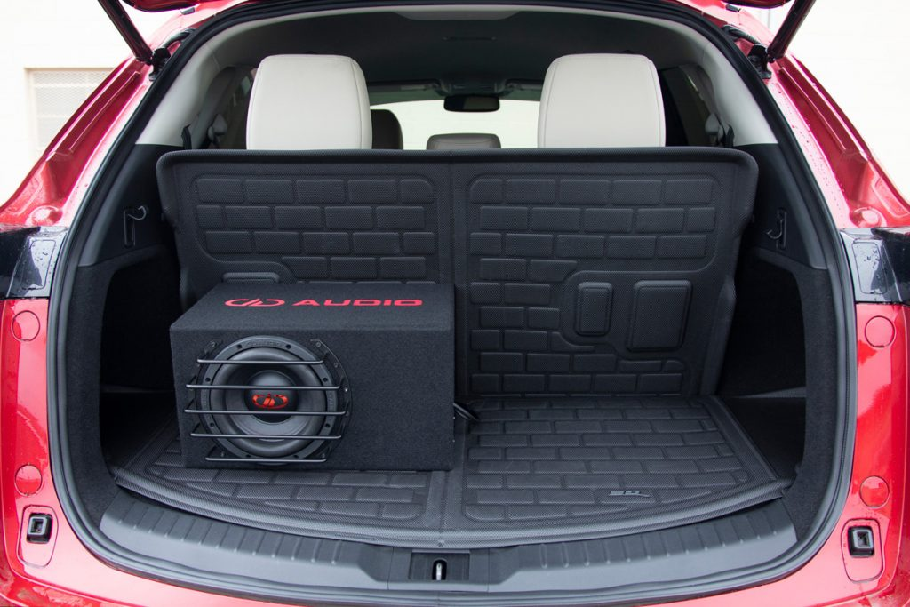 LE-M06 in Midsize SUV Trunk