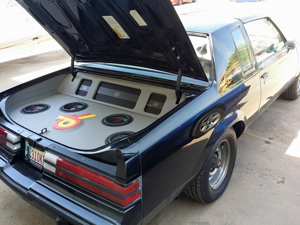 Buick Grand National Trunk Build with Subs and Amps