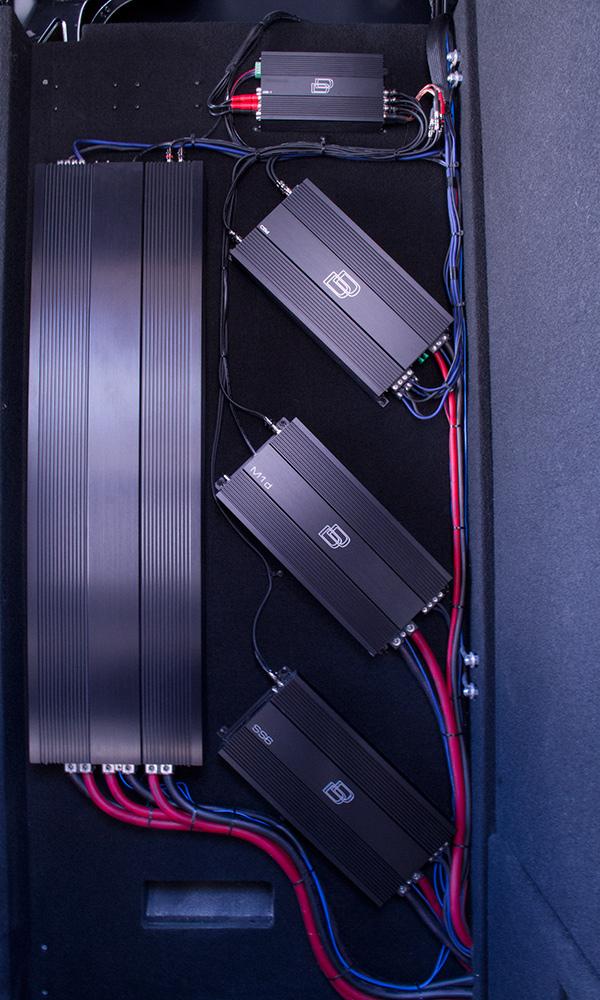 DD Work Van - Amplifier Set Up