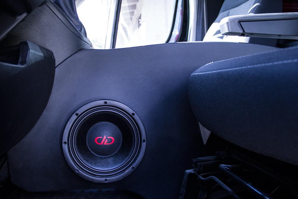 DD Work Van - Speaker Fabrication