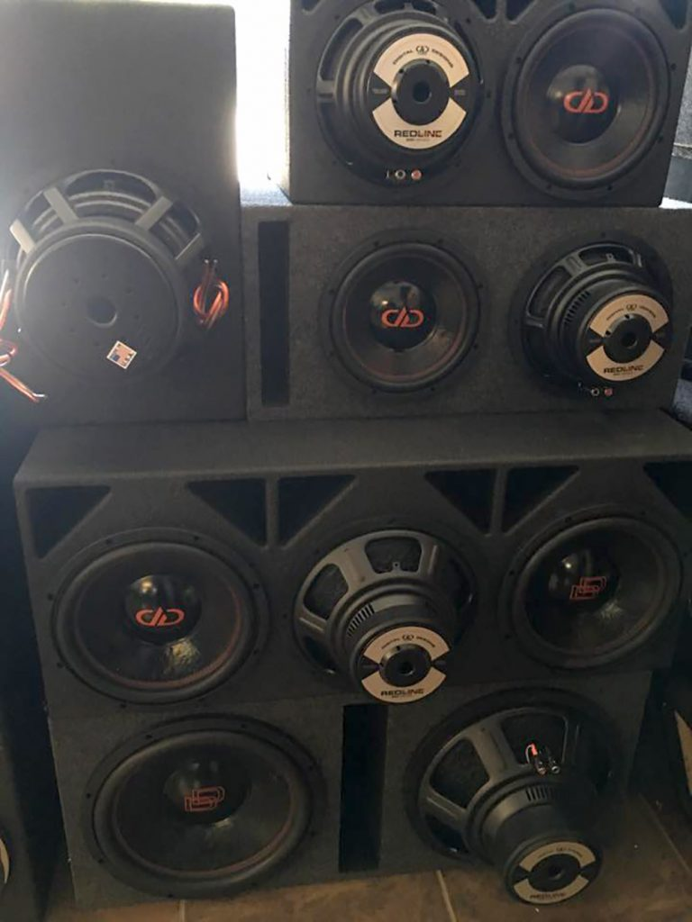 Sound Advice Custom Enclosures in Shop