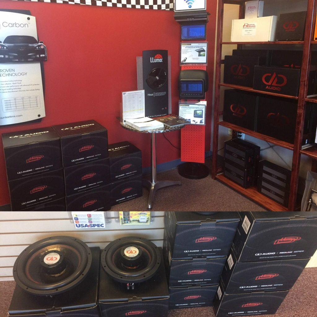 Car Audio Radio Security Product in Shop