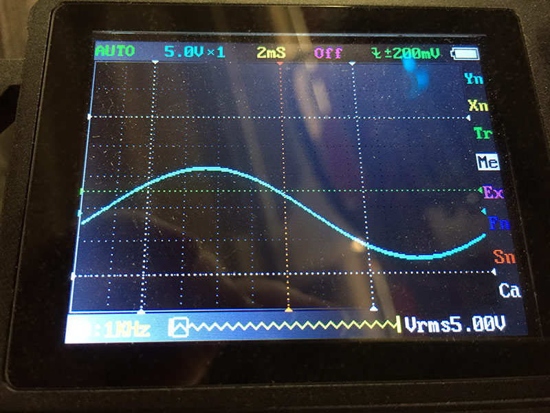Scope - Volume 49 - Maximum unclipped signal from USB