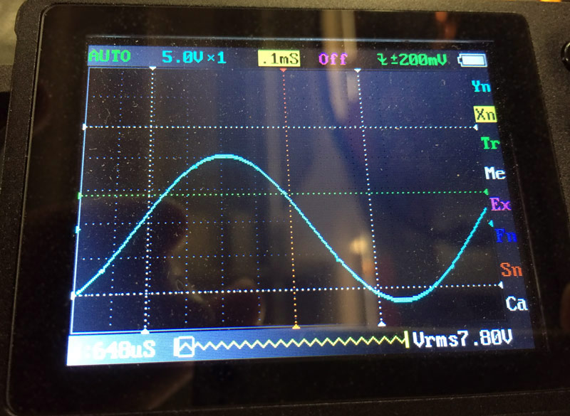 Scope - Volume 35 - Maximum unclipped signal from Speaker Outputs