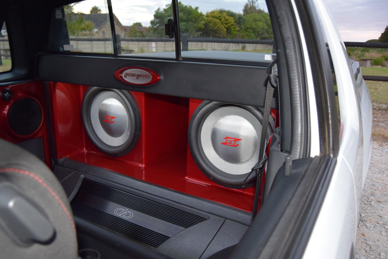 Opel Corsa - Custom Z Enclosures Behind Seats