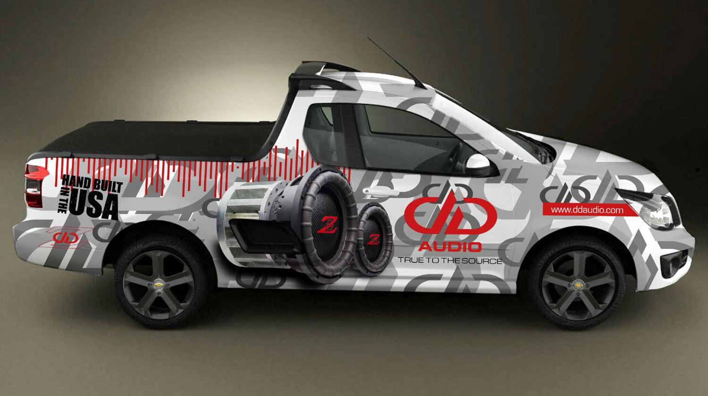 Opel Corsa - DD Branded Wrap Rending