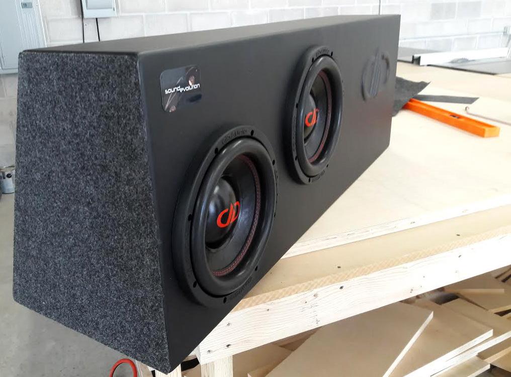 Sound Evolution Custom Enclosure
