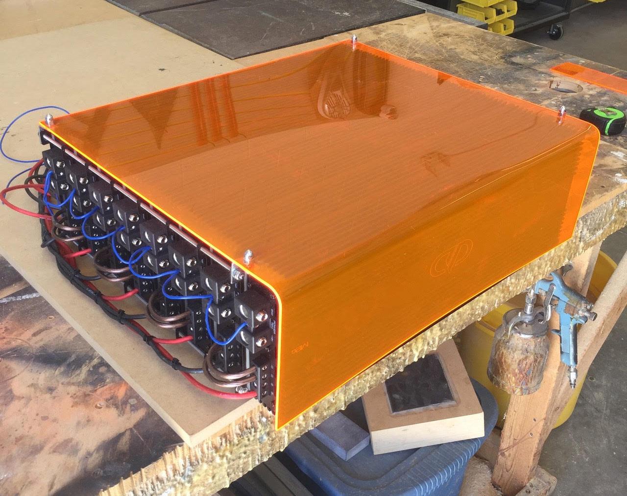 Honda Civic - Custom Box for Signal Wiring