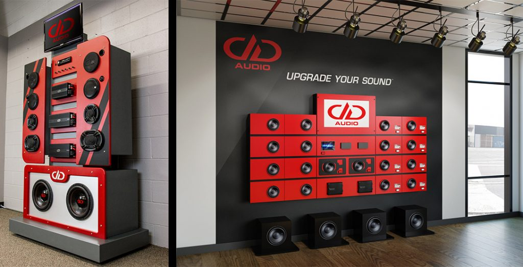 DD Audio Product and Display