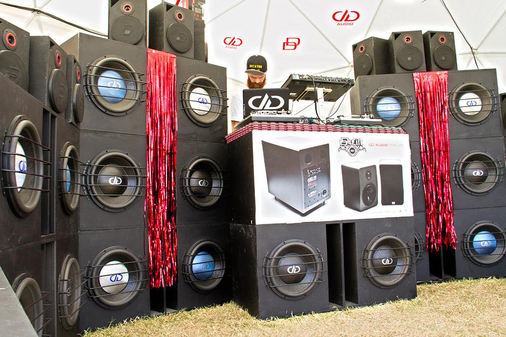 Pro Audio Stacked Display