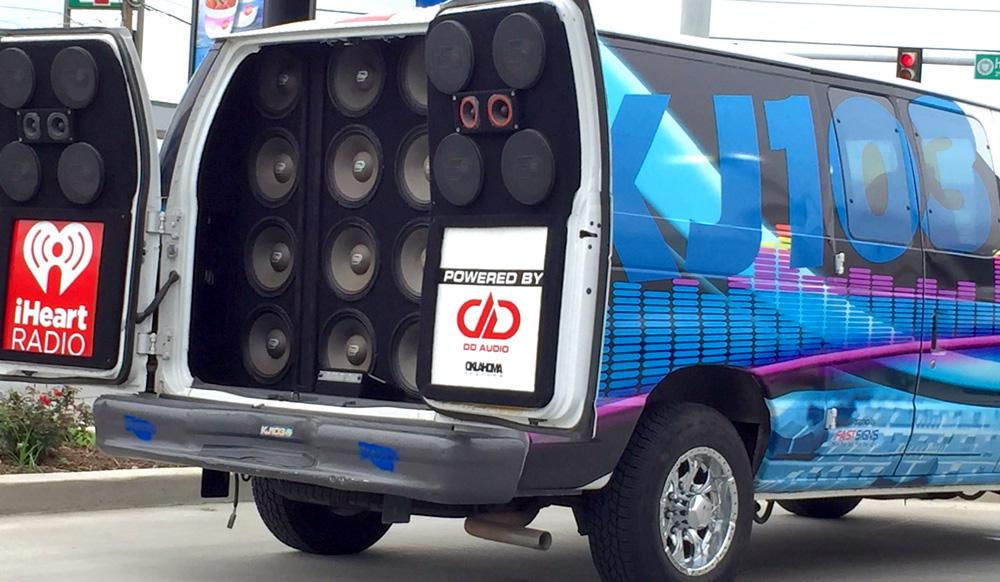 Pro Audio in KJ-103 Van