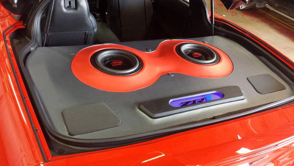 Custom Sound Works - Custom Enclosure in Hatch
