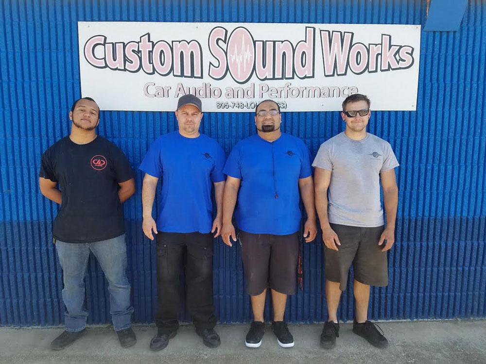 Custom Sound Works Staff