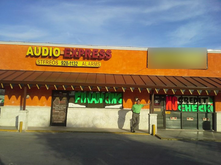 Audio Express Storefront