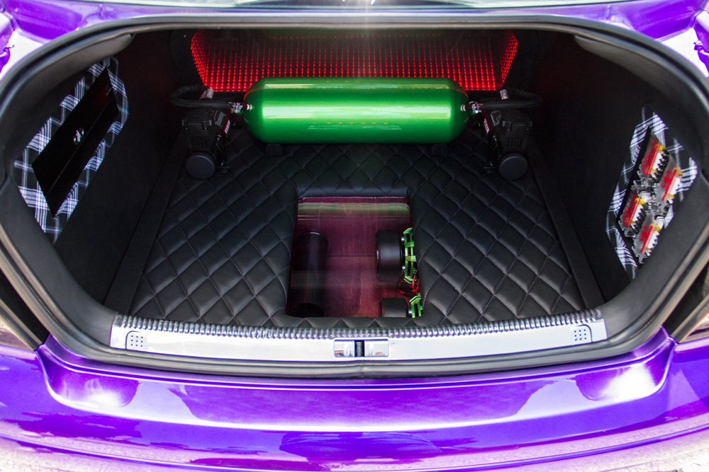 Jetta Trunk Fabrication from Top