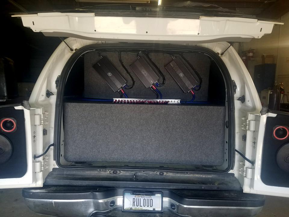 Excursion Amplifier Rack