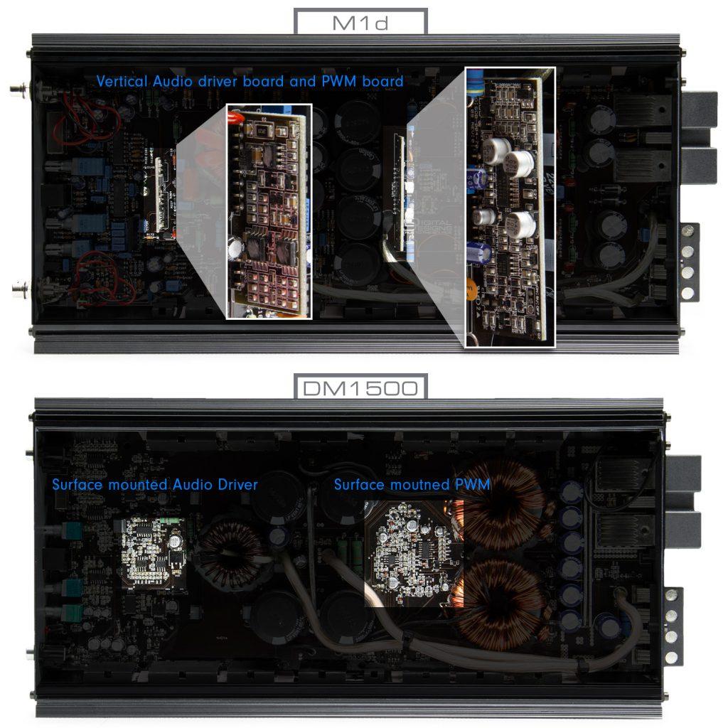 M1d - DM1500 Comparison - Boards