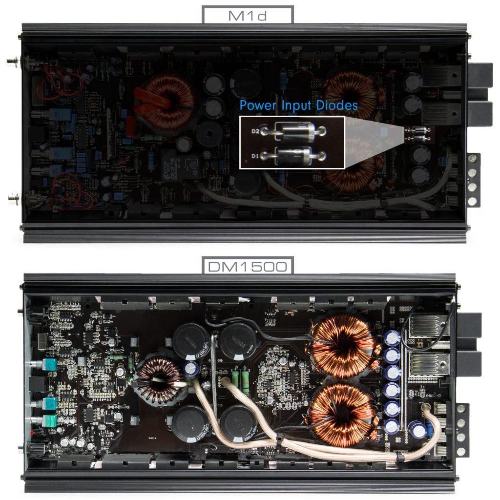 M1d - DM1500 Comparison - Diodes