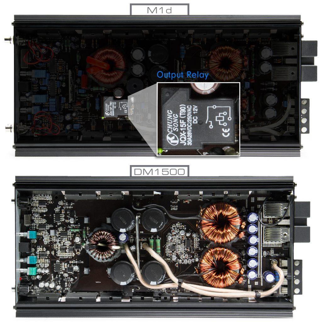 M1d - DM1500 Comparison - Output Relay