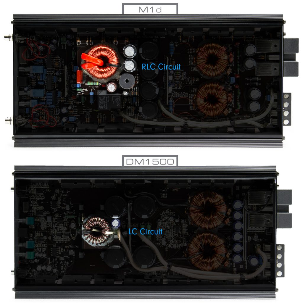 M1d - DM1500 Comparison - RL-RLC