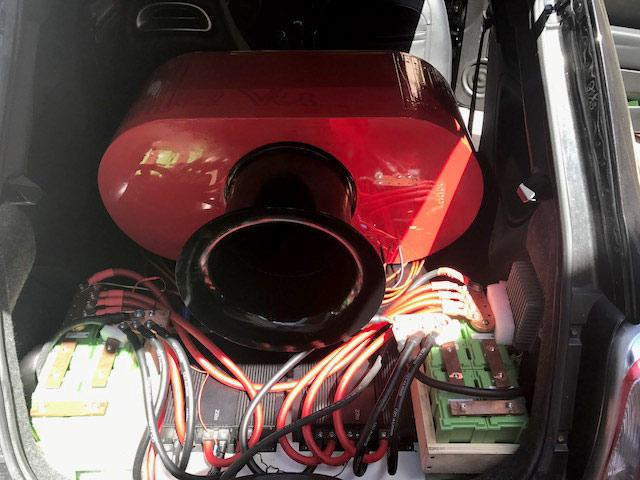 Fiat 500 Z Enclosure Rear Port