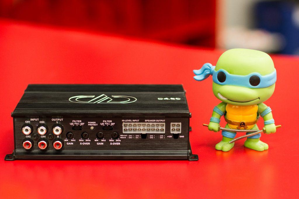 D4.60 Size Comparison - Ninja Turtle
