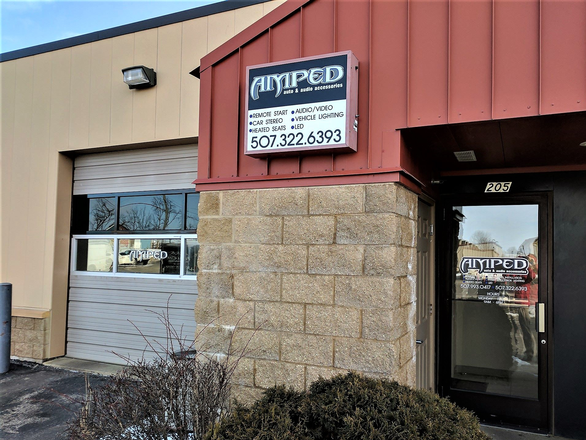 Amped Audio Store Front