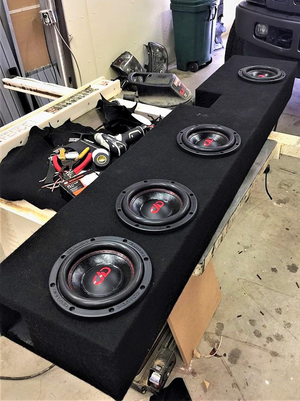 Amped Audio - Custom Enclosure