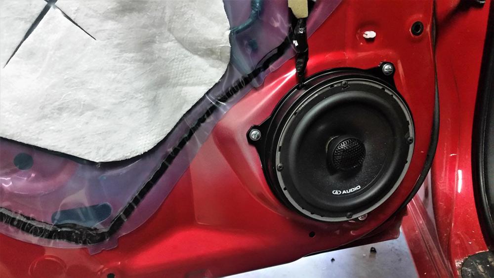 Amped Audio - Door Speaker Install