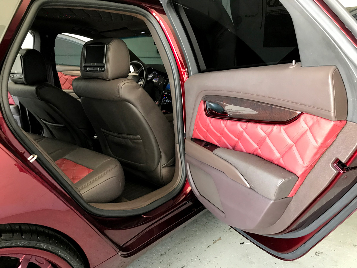 2015 Cadillac XTS - Door with Concealed Speakers