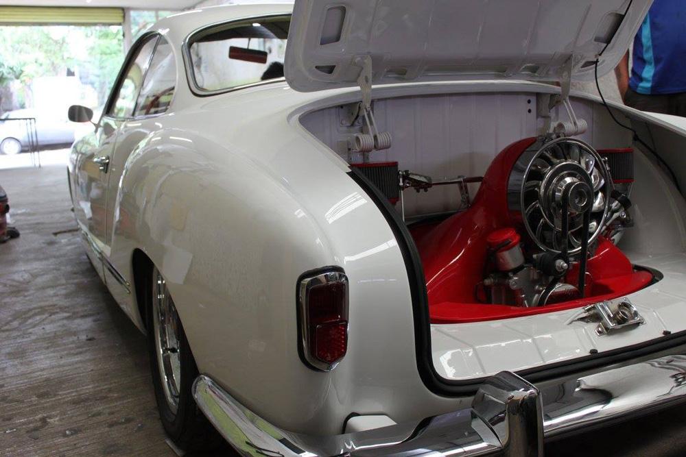 Pro Audio MX - Custom Ghia Engine Compartment