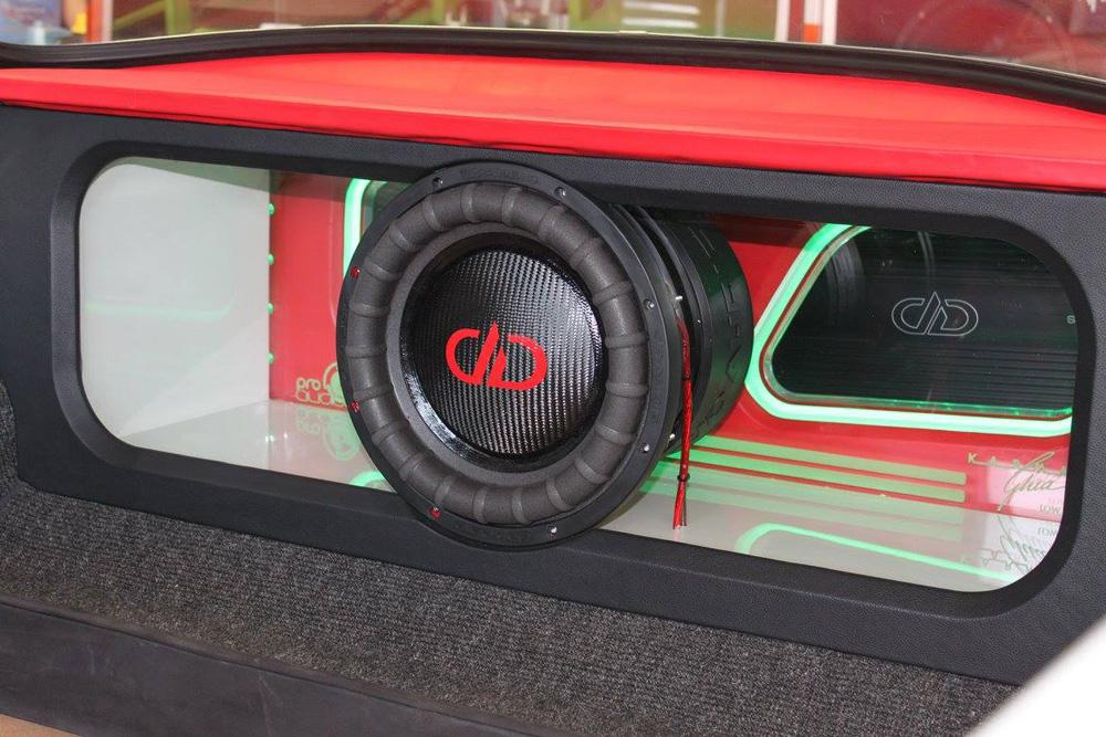 Pro Audio MX - Custom Ghia Custom Enclosure