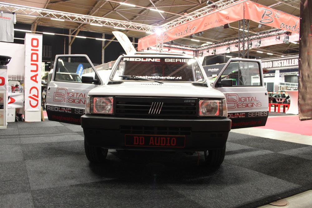 Fiat Panda Front