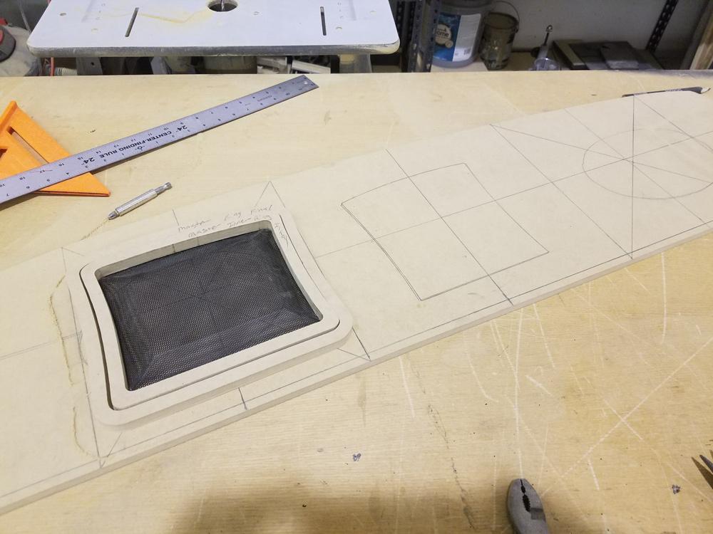 Camaro rear speaker enclosure design
