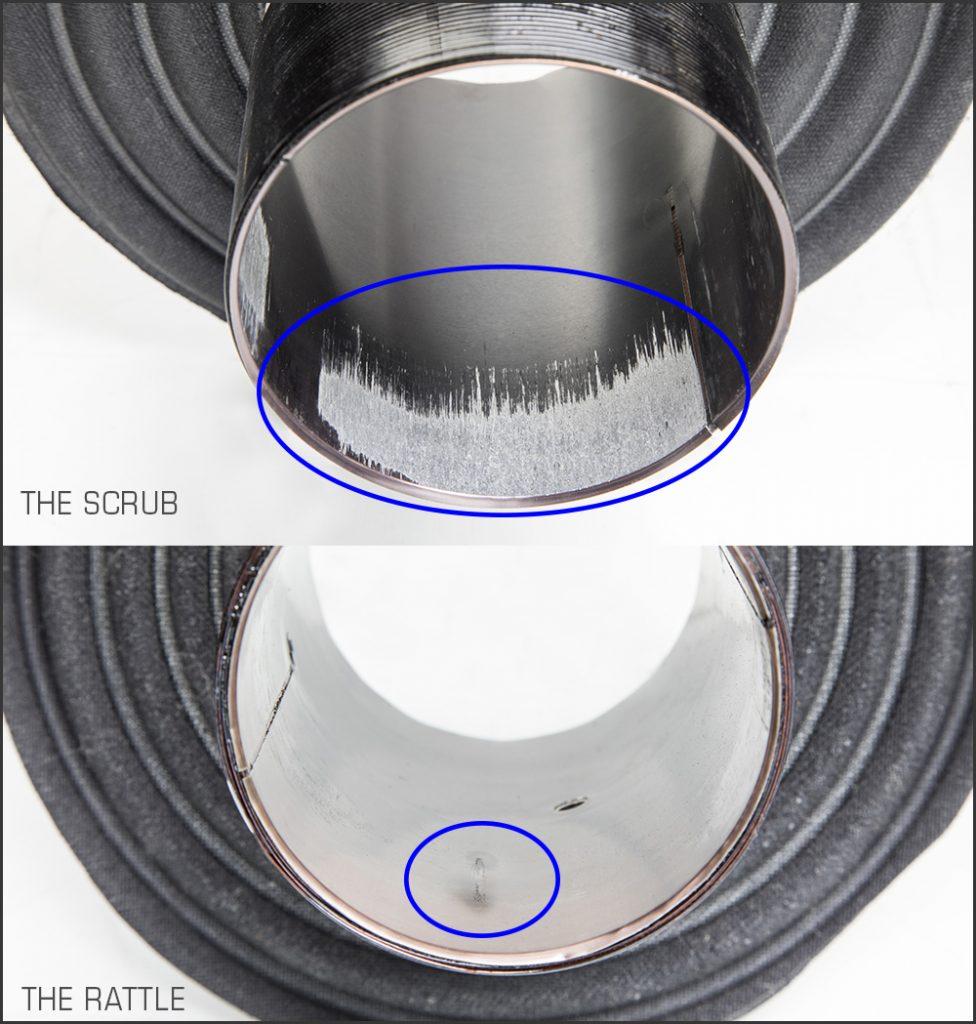 Burned Speaker Voice Coil Diagnosis - Voice coil scrub vs rattle