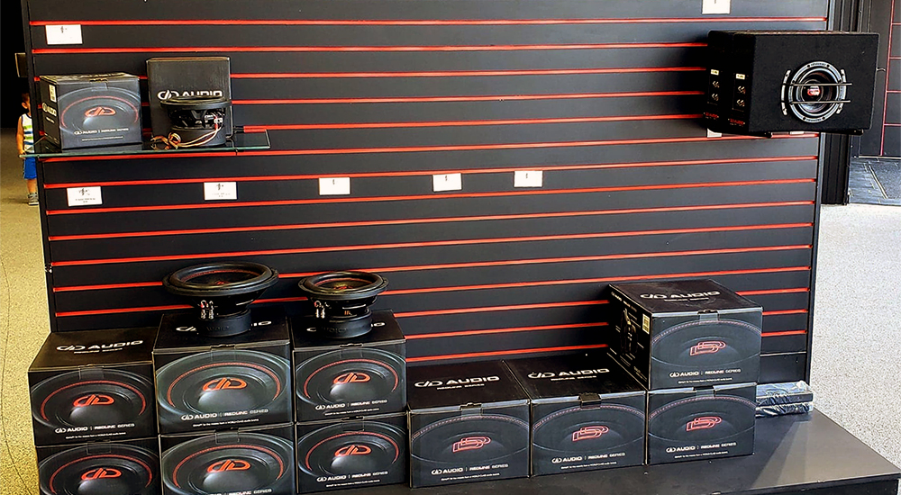 AVTech Subwoofers Wall