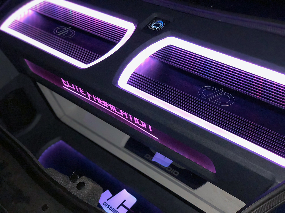 M3c Amplifiers with LED - Purple
