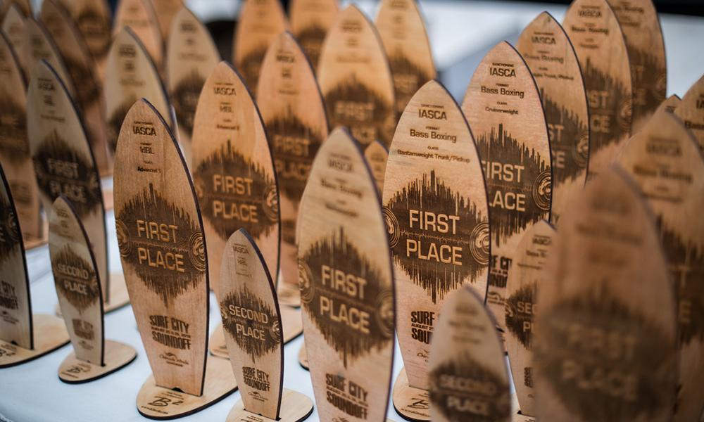Surf City 2018 awards