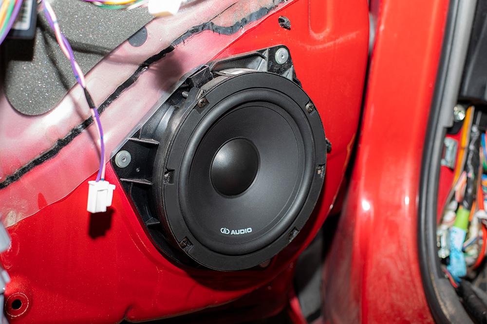 Jabee Toyota Prius Door Speaker Installed