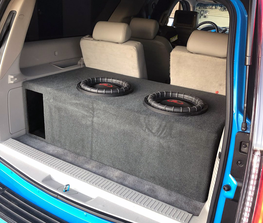 Custom Enclosure built by Exotic Sound and Tint