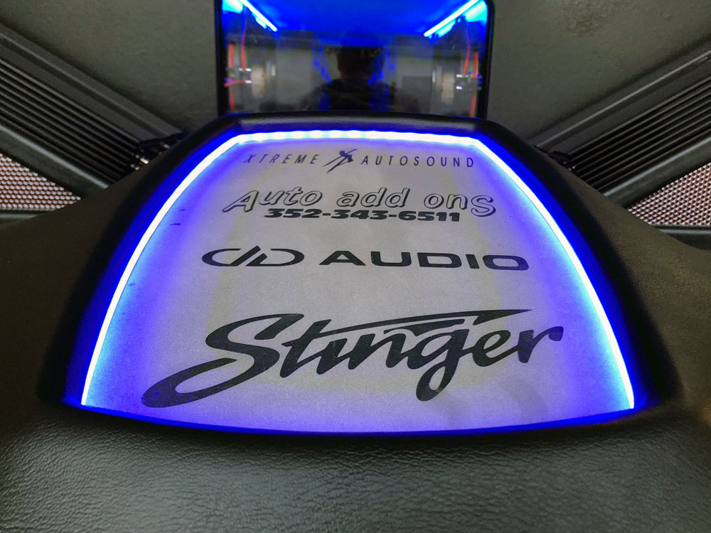 Logos on Enclosure with LED