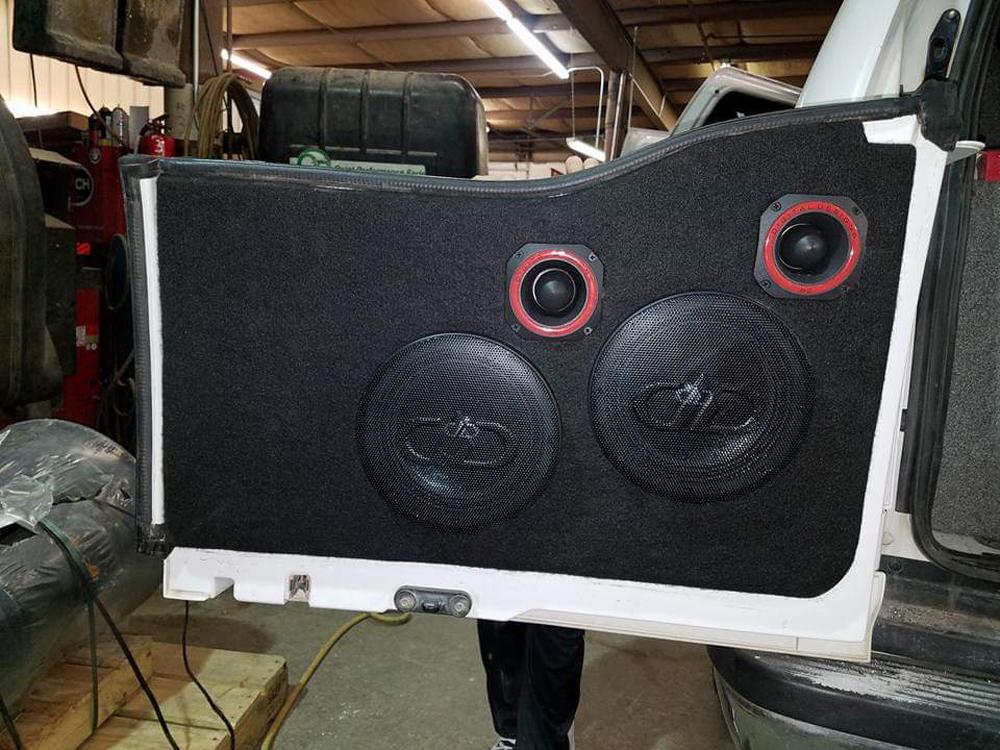 Matt Hermann's Beast Back Door Speakers