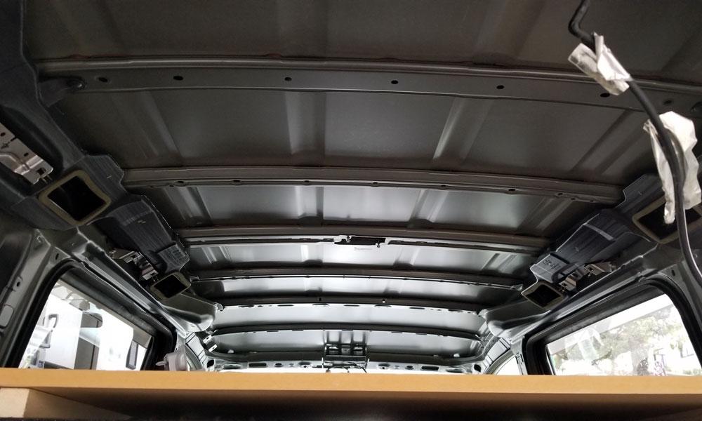 Khalif's GoDDzilla stripped ceiling
