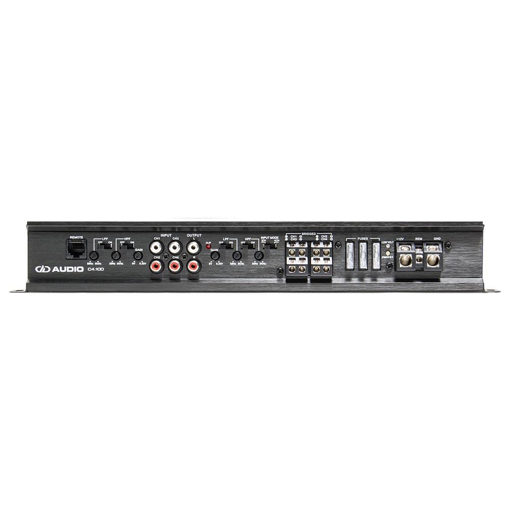C4.100 4 ch speaker amplifier