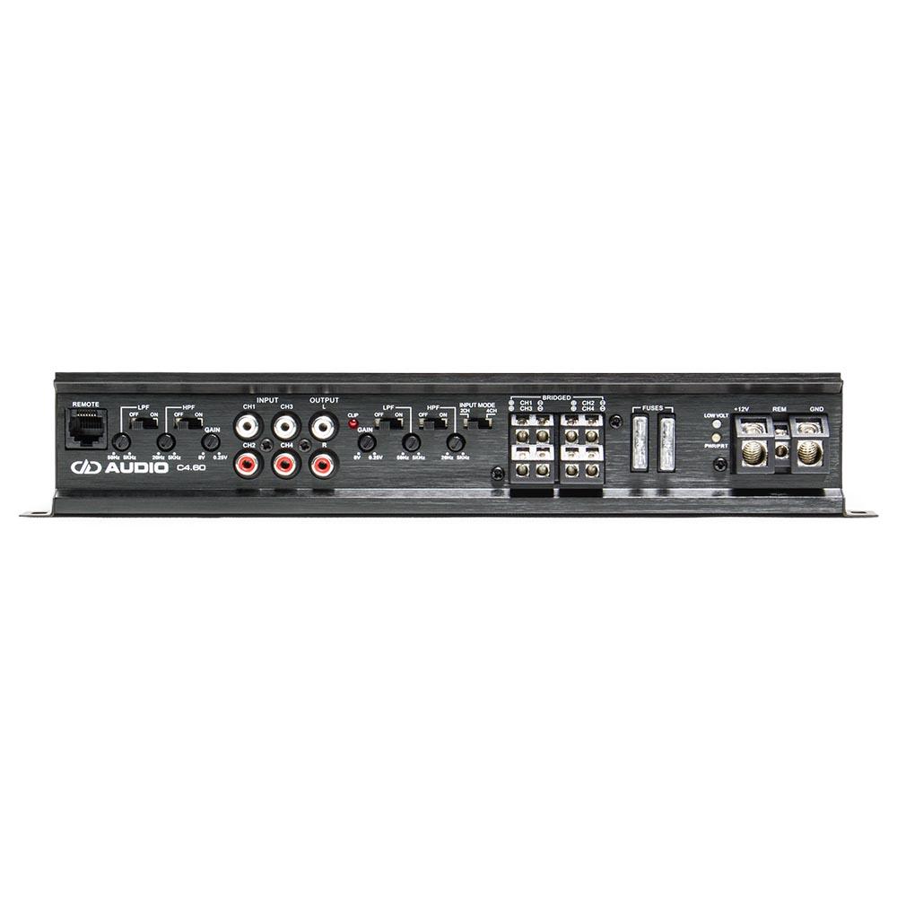 C4.60 4 ch speaker amplifier