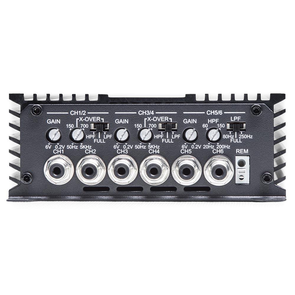 d6.500 6ch amplifier