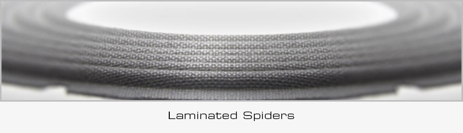 DD Subwoofer Feature Laminated Spiders