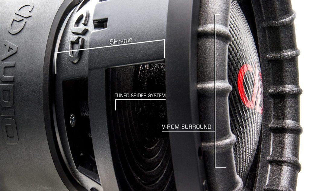 3512 esp subwoofer features diagram